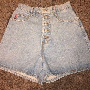 Pants - Bongo Buttonfly Denim shorts